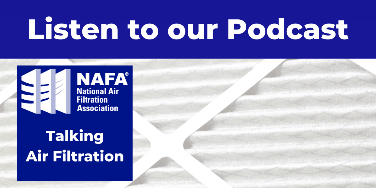 Talking Air Filtration podcast slide
