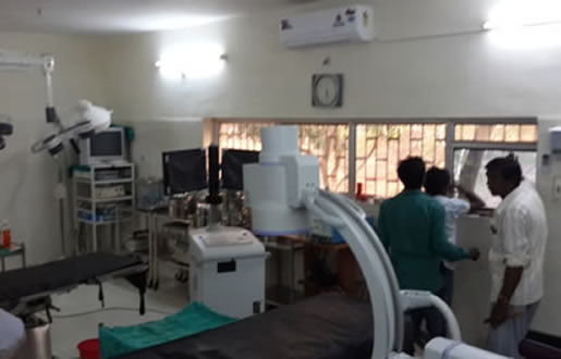 """Modern"" hospital operating room in India"